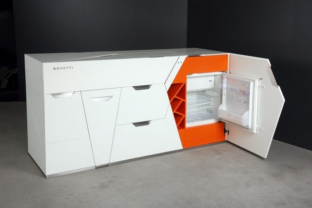 Stay Orange Super Space Saving Furniture By Boxetti