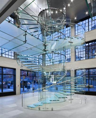 Apple stores interior design for Interior architect jobs new york