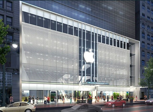 Apple Store In New York, 34th Street