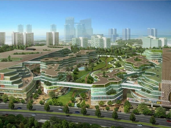 Fascinating Eco city Near Tianjin China