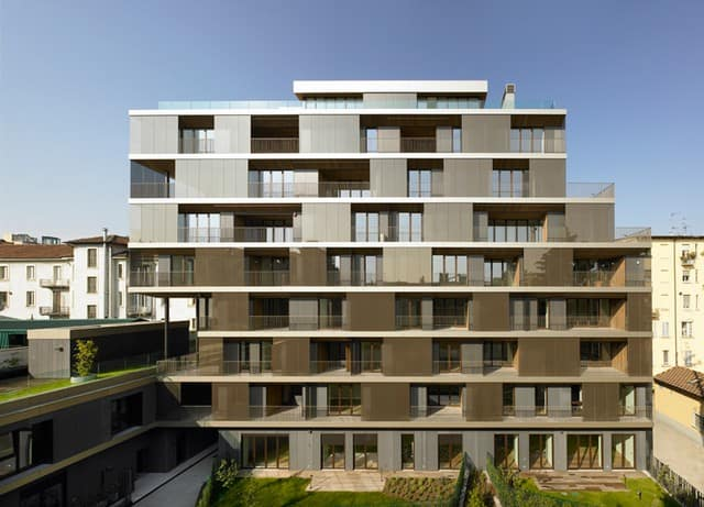 Beautiful Residential Complex Milan Italy 2011