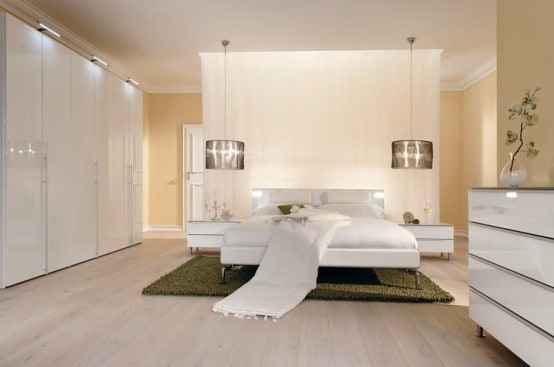 Warm Bedroom Decorating Ideas By Huelsta