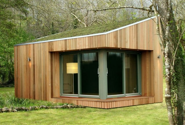 Garden offices garden rooms and timber garden office for Garden office buildings