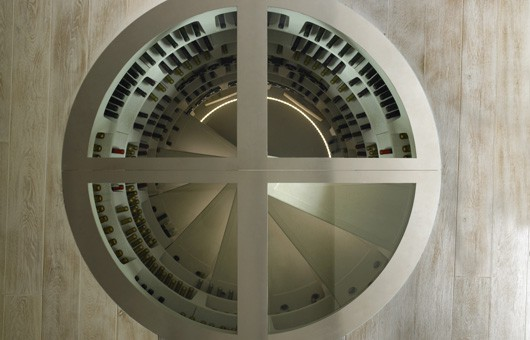 Wonderful wine cellars for any room in your house for Spiral wine cellar cost