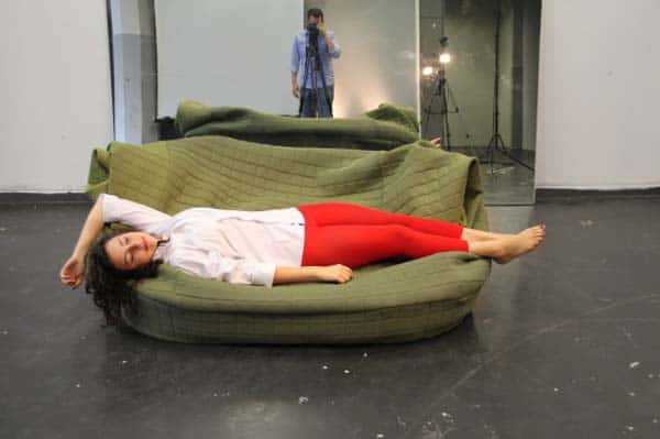 A Sofa That Literally Surrounds You