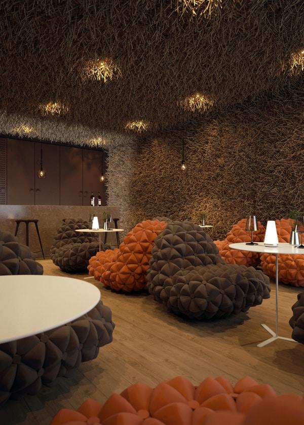 Restaurant Design Inspired By Natural Phenomena