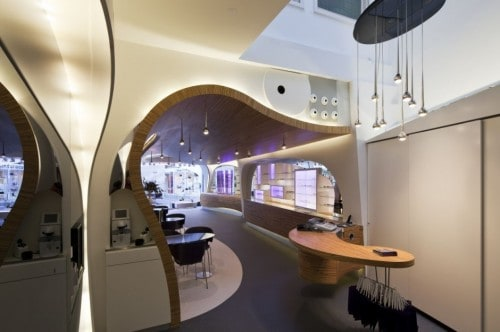 Hofstede Optiek Very Exciting Interior For An Optician S Shop