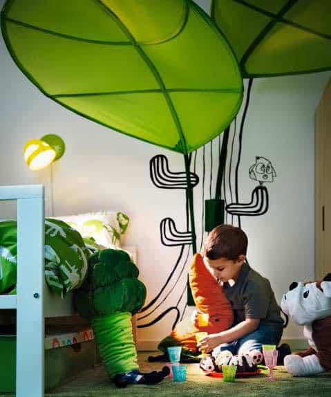 Ikea Kids Room Inspiration: IKEA Kids Room Design Ideas 2012