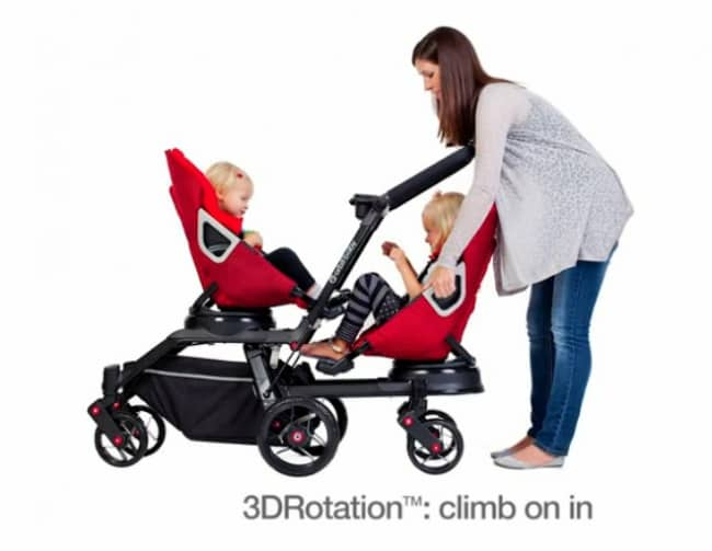 Orbit Baby Double Stroller