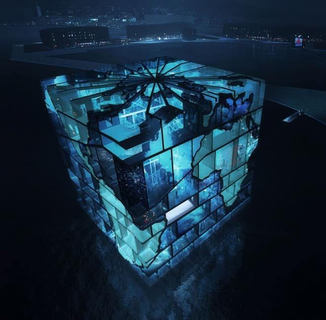 Modern Architecture Water Cube Pavilion 2012 World Expo