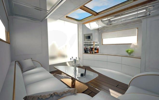 luxurious mobile home. Black Bedroom Furniture Sets. Home Design Ideas