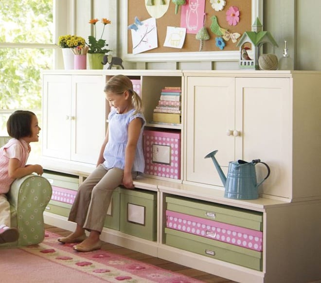 Dining Room Storage Ideas To Keep Your Scheme Clutter Free: Make Children Store Things Wisely