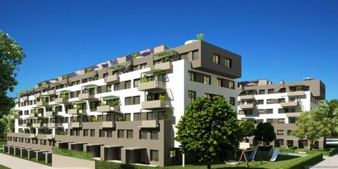 Residential Complex of 155 apartments in Kirch228cker Austria : 050500250 from designrulz.com size 660 x 330 jpeg 56kB