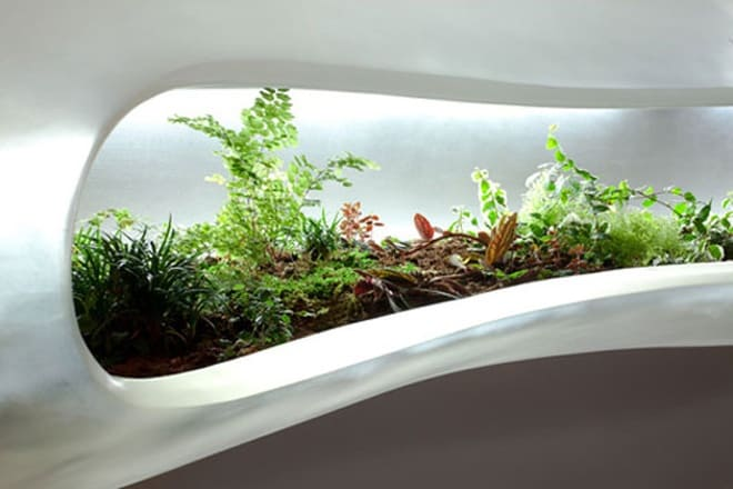 innovative new modern indoor planter by paula hayes