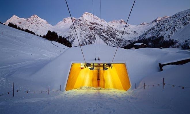Ski Lift Carmenna In Arosa Switzerland By Bearth Amp Deplazes