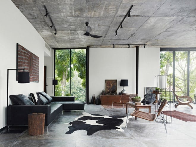 Dog Concrete House By Kevin Low Kuala Lumpur Malaysia