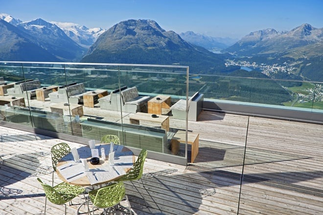 Welcome to the new romantik hotel muottas muragl swiss alps for Design hotel tessin