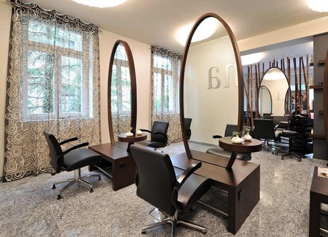 Meditation furniture for the spirit zen beauty salon for Living room hair salon