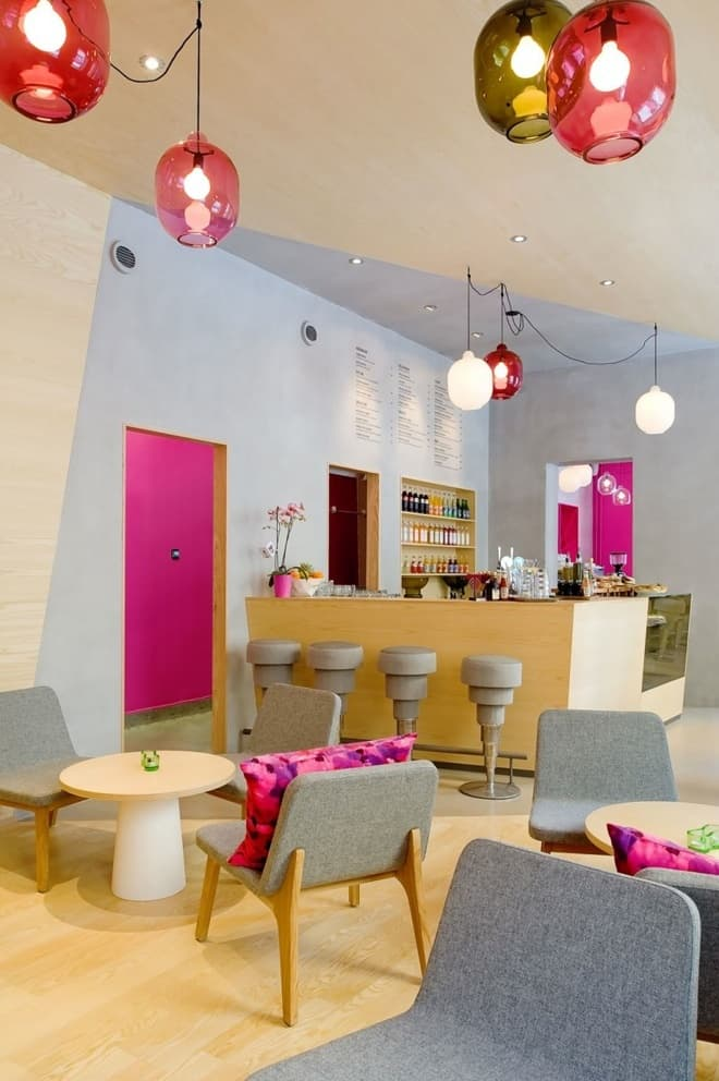 A Colorful Interior For Caf 233 Foam Stockholm By Note
