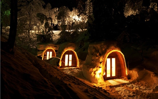 Eco Pod Hotel In Switzerland
