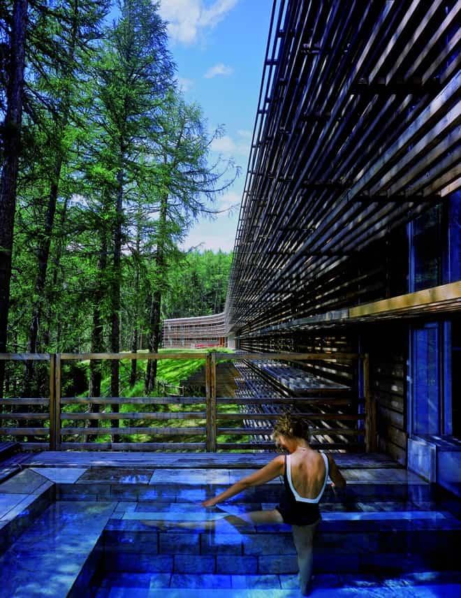 the vigilius mountain resort  lana  italy