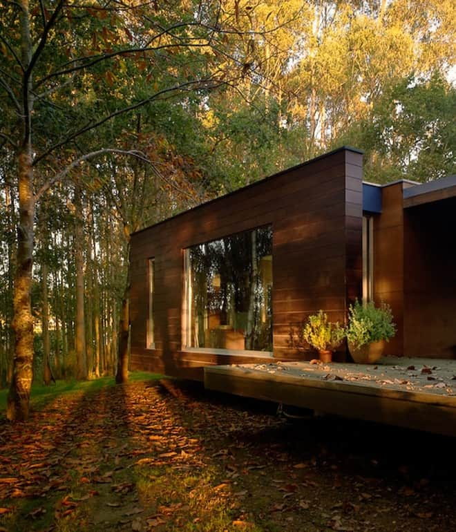 Home Designs October 2012: Wood House Concept Harmony With Nature