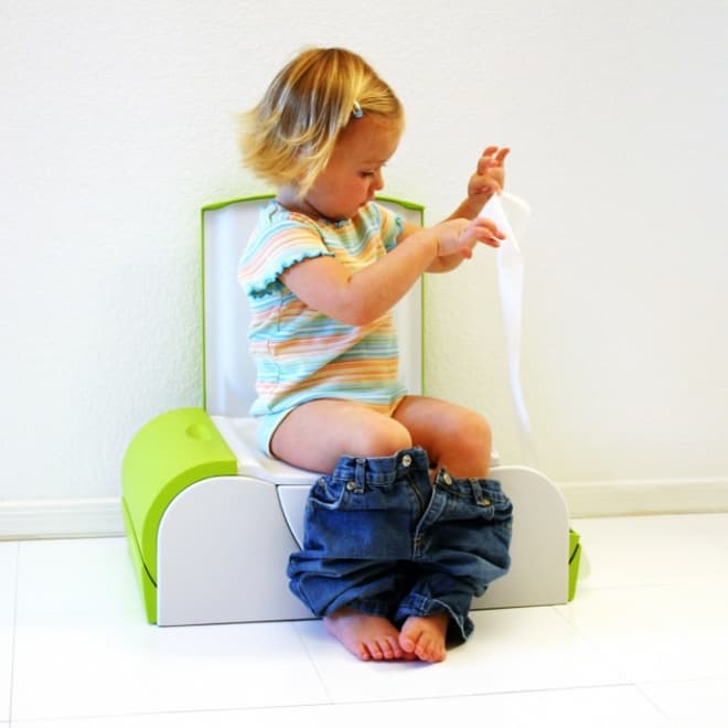 For Your Baby A Potty Bench Seat Toilet With Side Storage