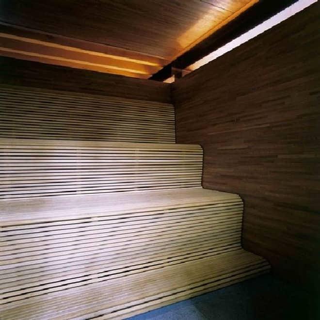House Modern Sauna Designs For Small Spaces With: Modern And Cozy Vacation In The House With Private Steam Sauna