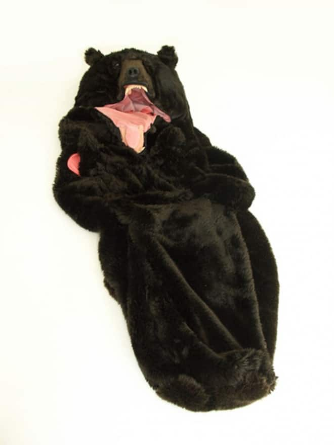 Become A Grizzly Bear Sleeping Bag