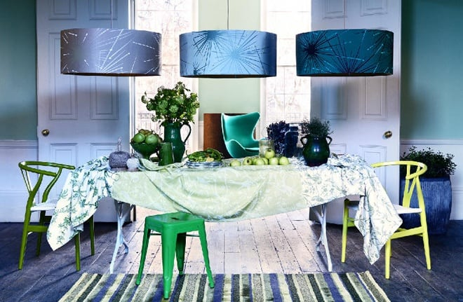 25 Blue And Green Interiors Design An Interesting And