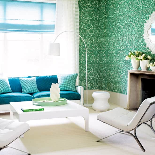 25 Blue And Green Interiors Design: An Interesting And