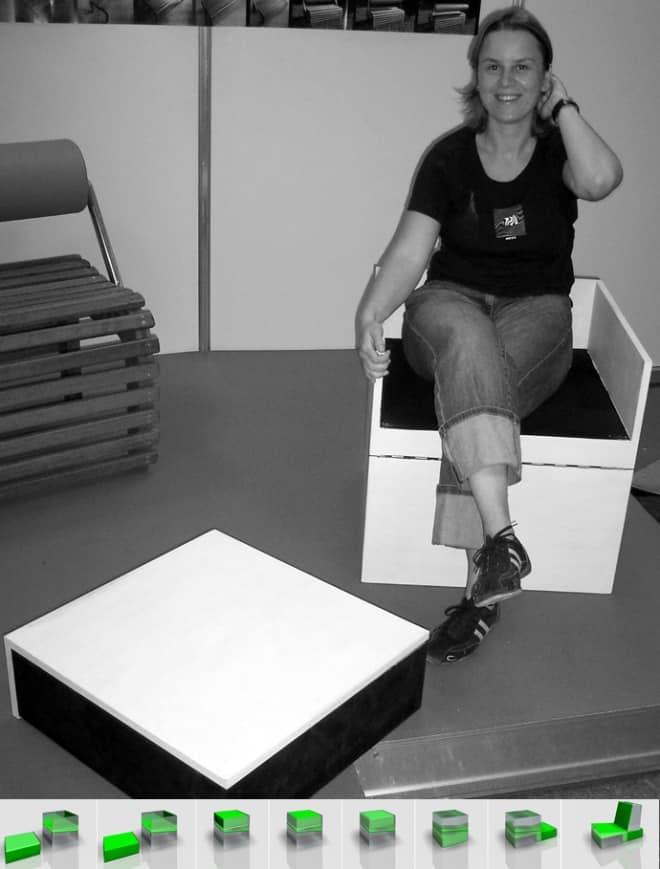 Surprising Klap Chair By Designer Se Cris