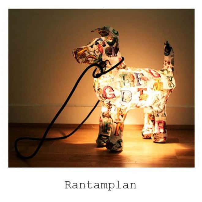 Would You Want An Animal Lamp By Marie Astrid Montagnier