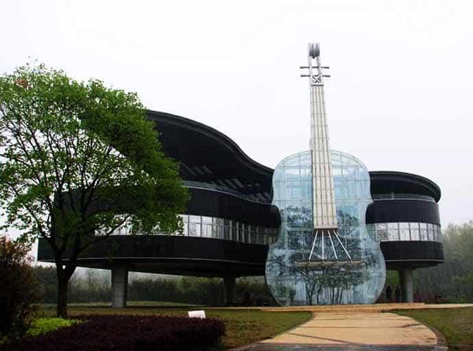 Beautiful piano house in china - Architektonische meisterwerke ...