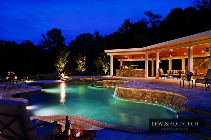 Bath into 45 amazing swimming pools that can beautify your for How to design a pool