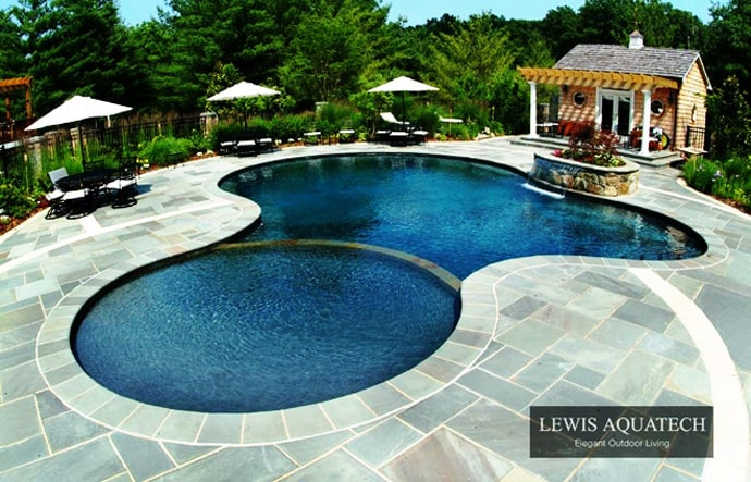 Bath Into 45 Amazing Swimming Pools That Can Beautify Your Outdoor Space