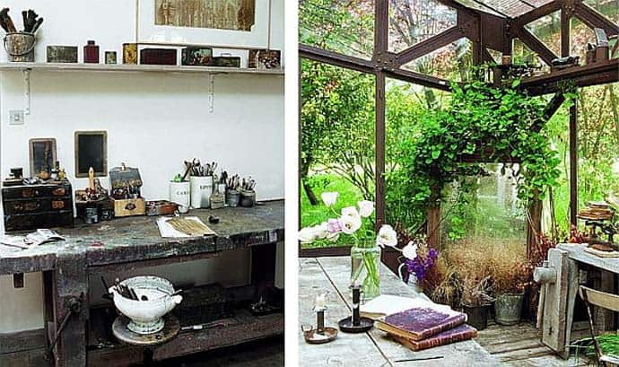 An artists dream house rustic french country inspiration for Country francese arredamento