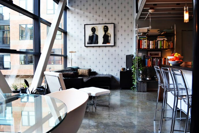 Minimalist Industrial Interior Design For A 800 Sq Feet