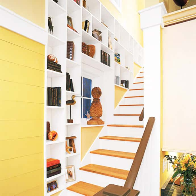 28 Best Stairway Decorating Ideas And Designs For 2020: Over 30 Clever Under-Staircase Storage Space Ideas And