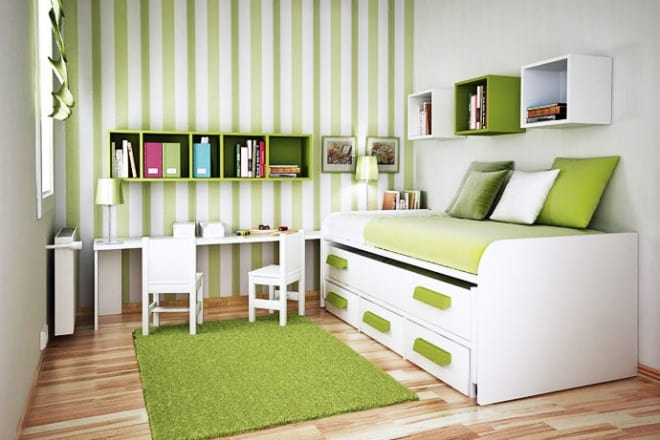 Small Spaces Bedroom Furniture Compact Furniture For A Small Sized Kids Room