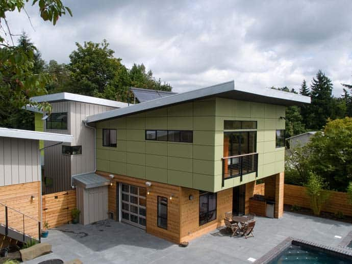 Ph 1 Modern And Green Prefab Home By Place Architects