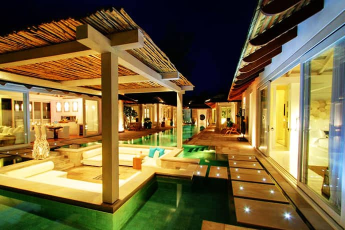 Beachfront Tropical Villa In Koh Samui