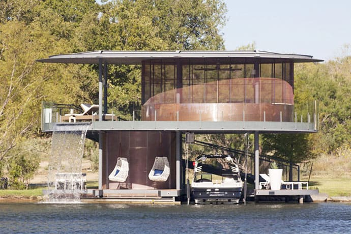 Awesome Floating House Shore Vista Boat Dock By Bercy Chen Studio - Awesome floating house shore vista boat dock by bercy chen studio