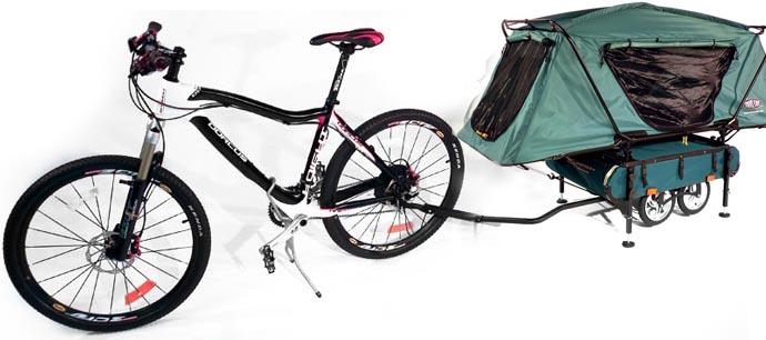 Kamp-rite midget bicycle camper trailer — photo 14