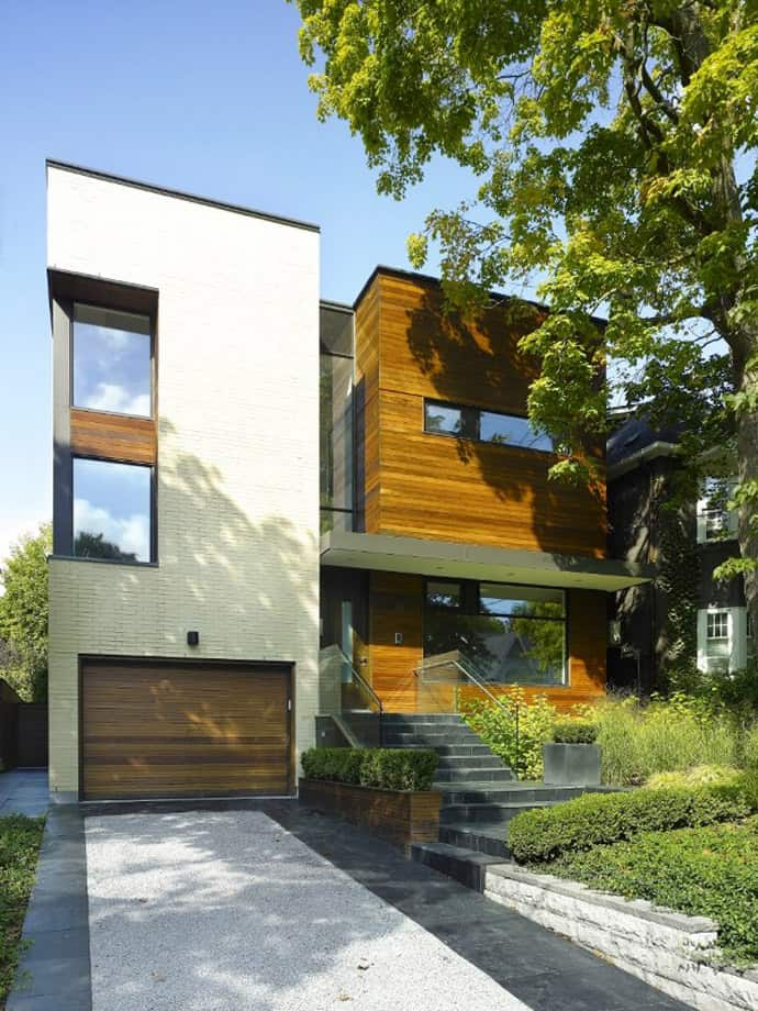 Cozy Beautiful Split House In Toronto Canada By Superk 252 L Inc Architects