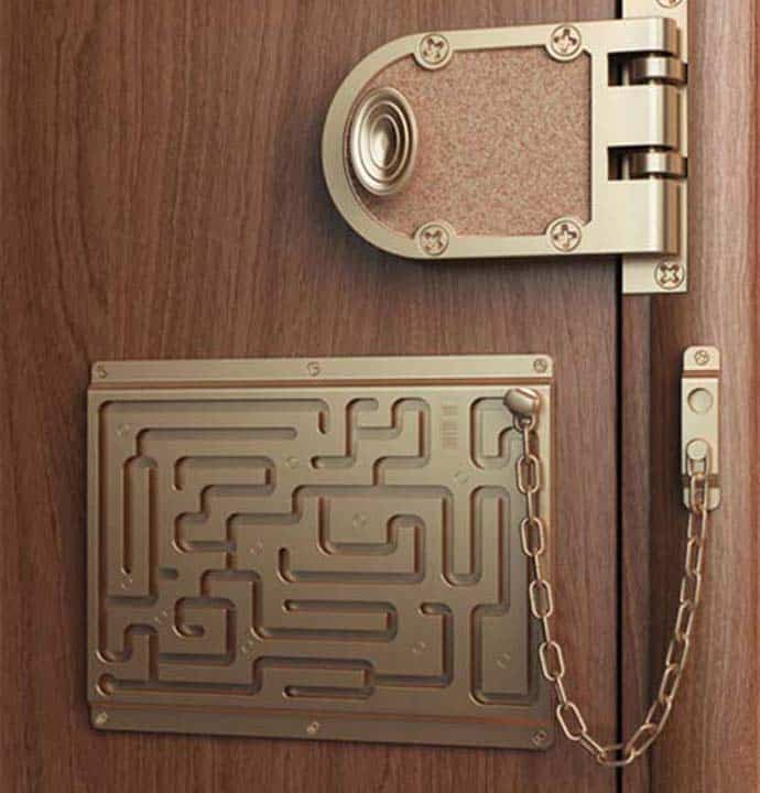 Labyrinth Security Lock By Art Lebedev Studio