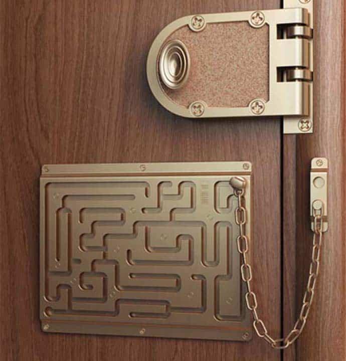 Labyrinth Security Lock By Art Lebedev Studio
