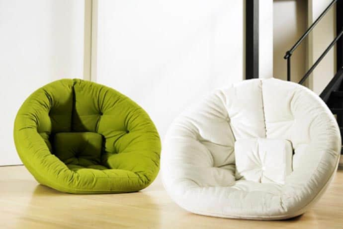 A Perfect Lounge Chair Or Guest Bed For Space Limited