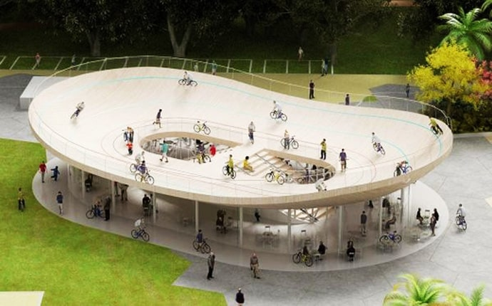 Bike Pavilion By NL Architects Will Come Up In China