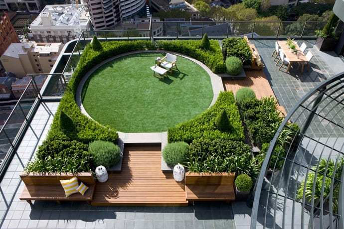 The ultimate secret roof garden for Garden sit out designs